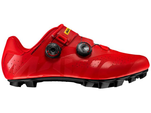 Mavic Crossmax Pro Shoes Men Fiery Red/Fiery Red